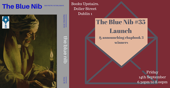 Blue Nib #35 launch